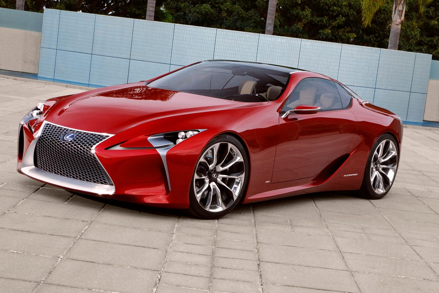 The LF-LC Hybrid Sports Concept from Lexus which was unveiled this week in Detroit