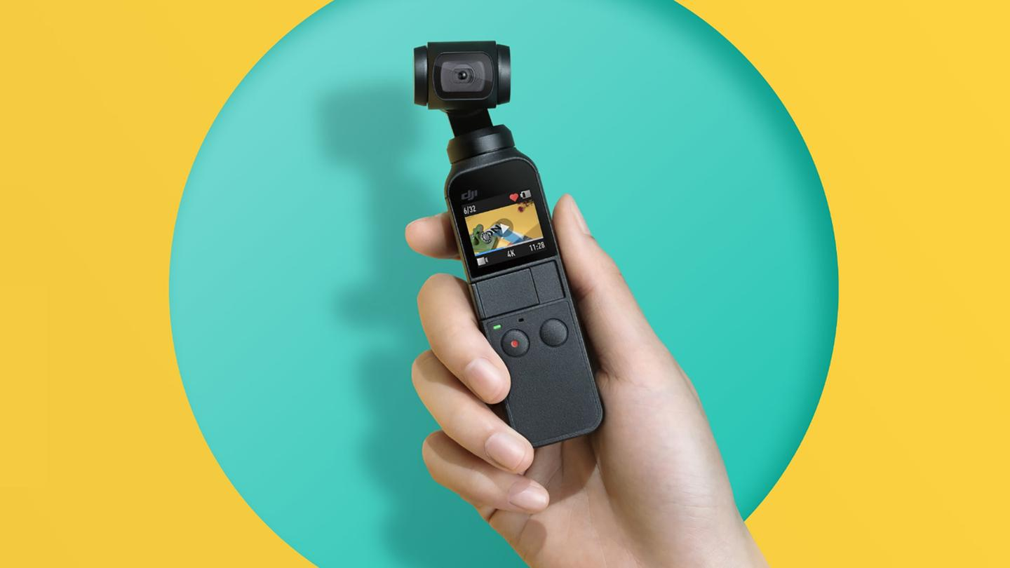 The DJIOsmo Pocket will set you back $349