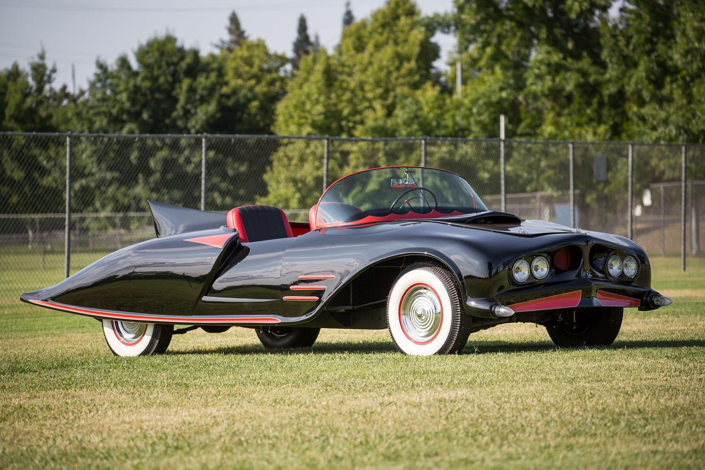 The 1963 Batmobile started life as a Buick