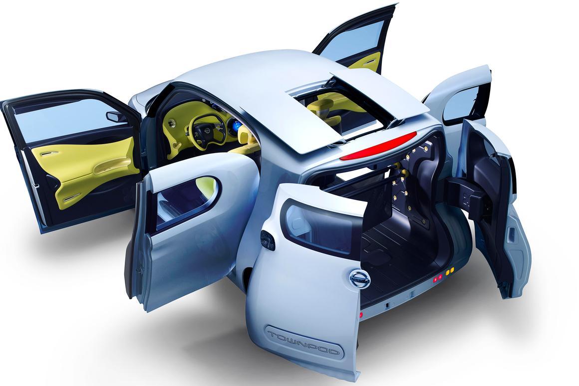 Nissan's Townpod concept