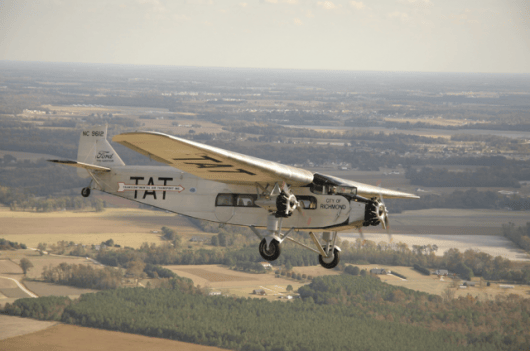 1929 Ford 4-AT-E Tri-Motor airplane