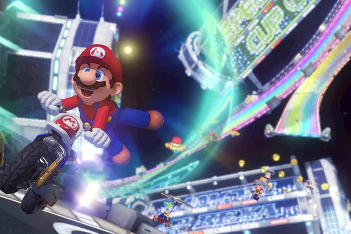 It's the same Mario Kart fun with the latest installment, but with some new twists