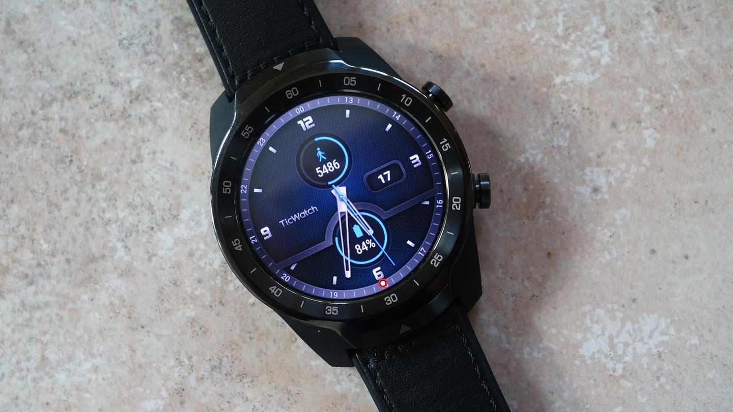 The Ticwatch Pro is a stylish Wear OS smartwatch with a trick up its sleeve