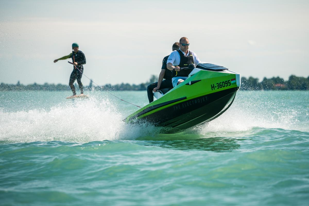 The GT95 promises quieter fun on the water for up to three