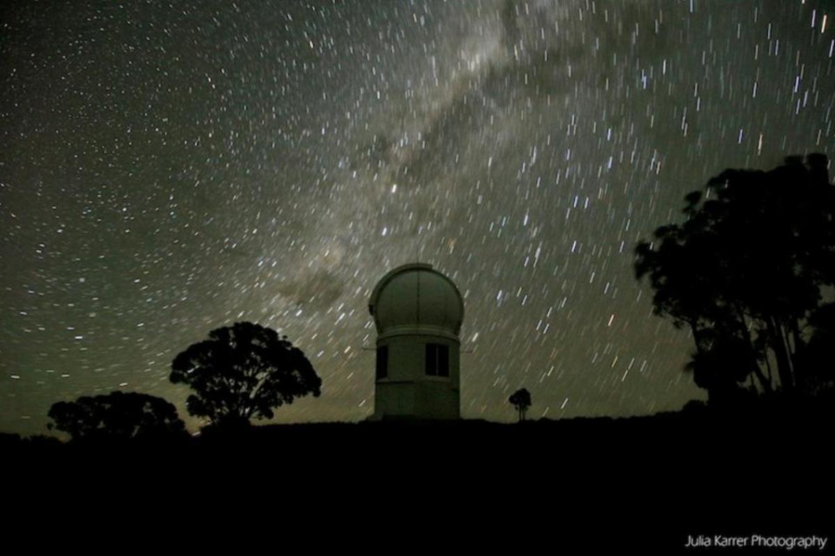 The ANU SkyMapper telescope at the Siding Spring Observatory has discovered the oldest known star in the Universe (Photo: ANU)