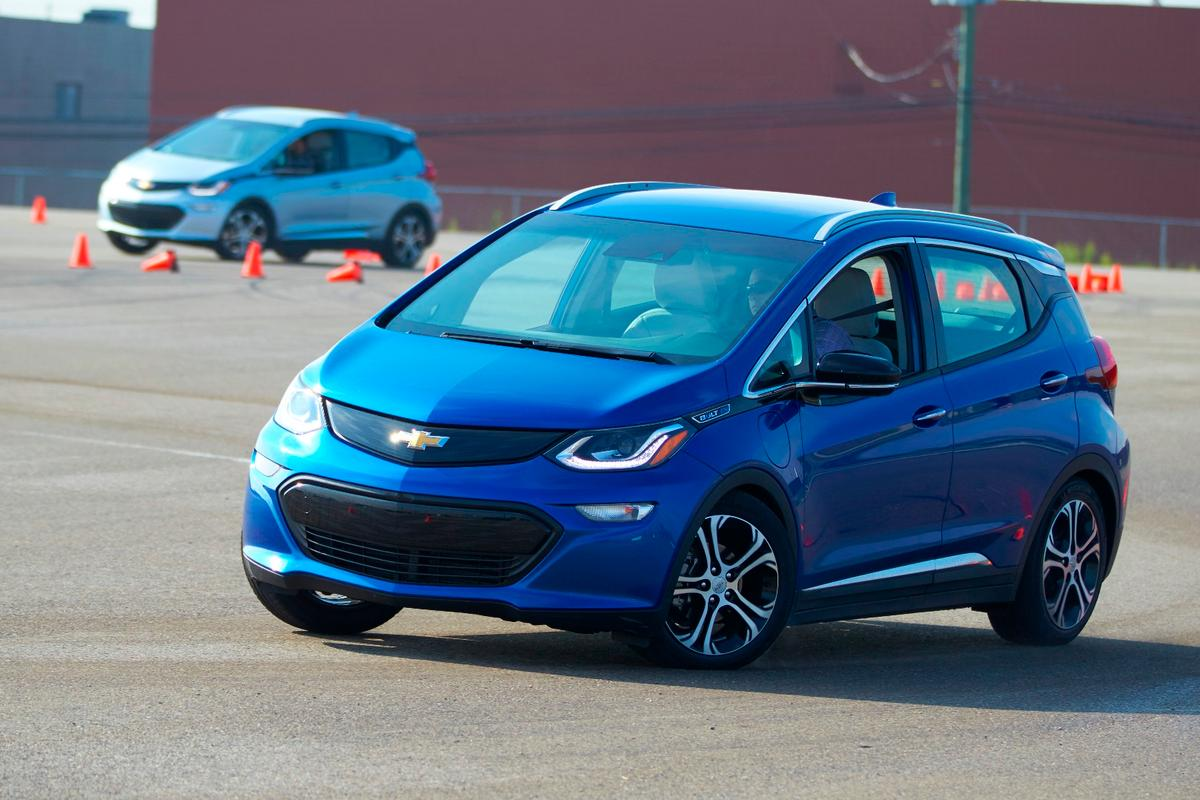 Bolt EVs hitting the asphalt
