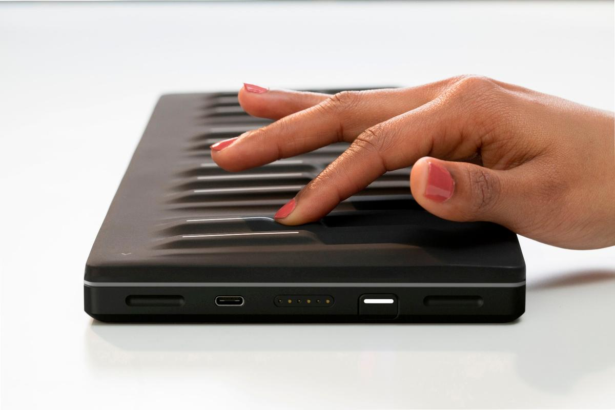 The Seaboard Block is designed to work with Roli's modular Blocks studio system