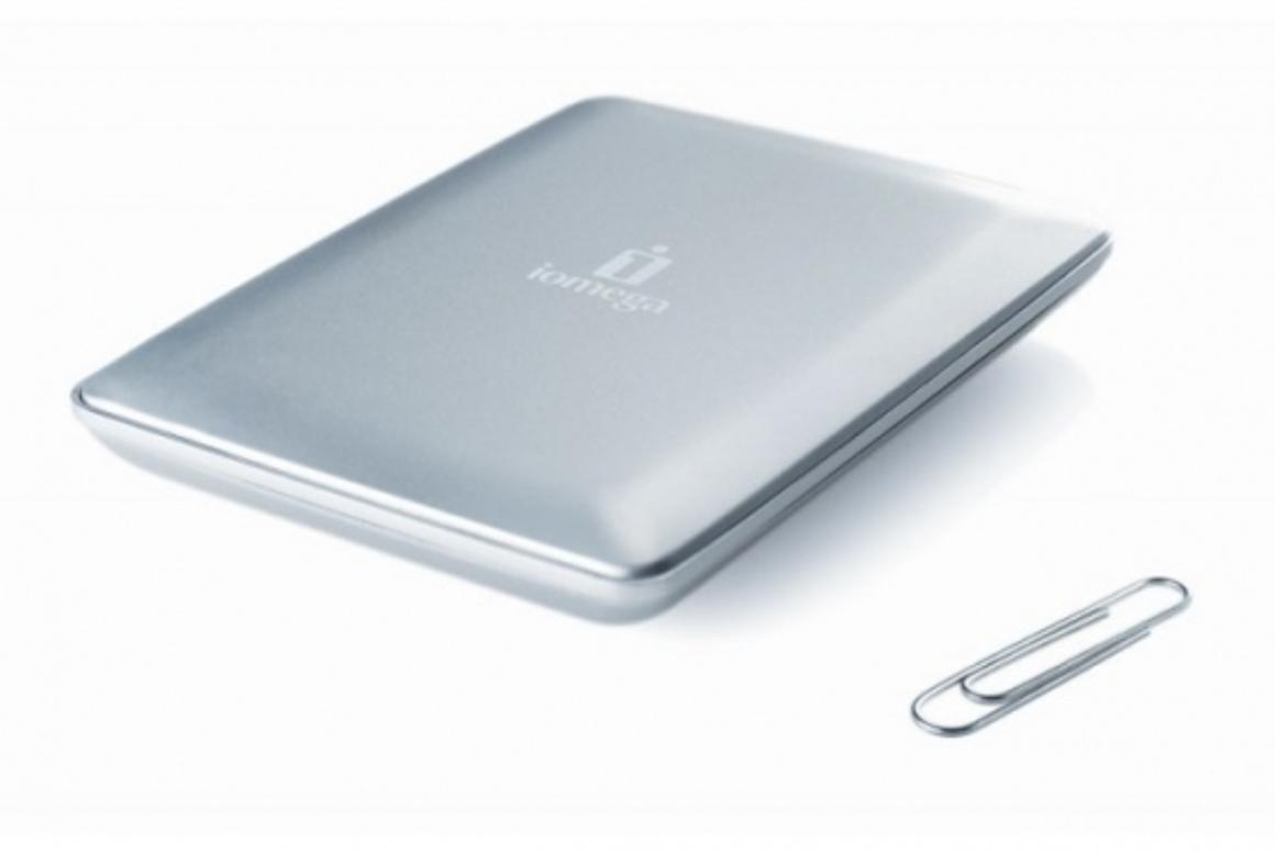 Iomega eGo Helium portable hard drive