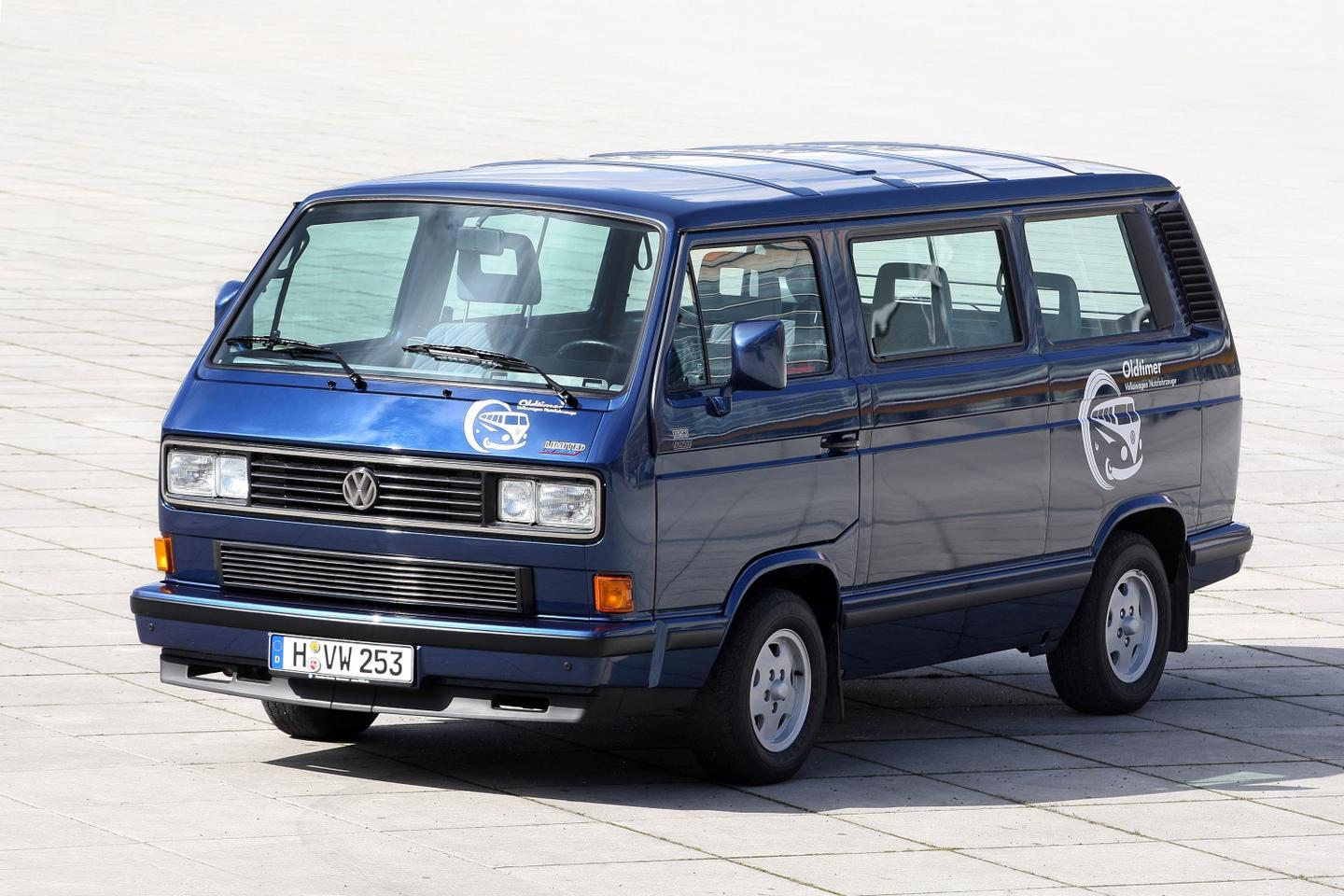 Younger than the Volkswagen Transporter itself, the Multivan launched on the third-generation T3