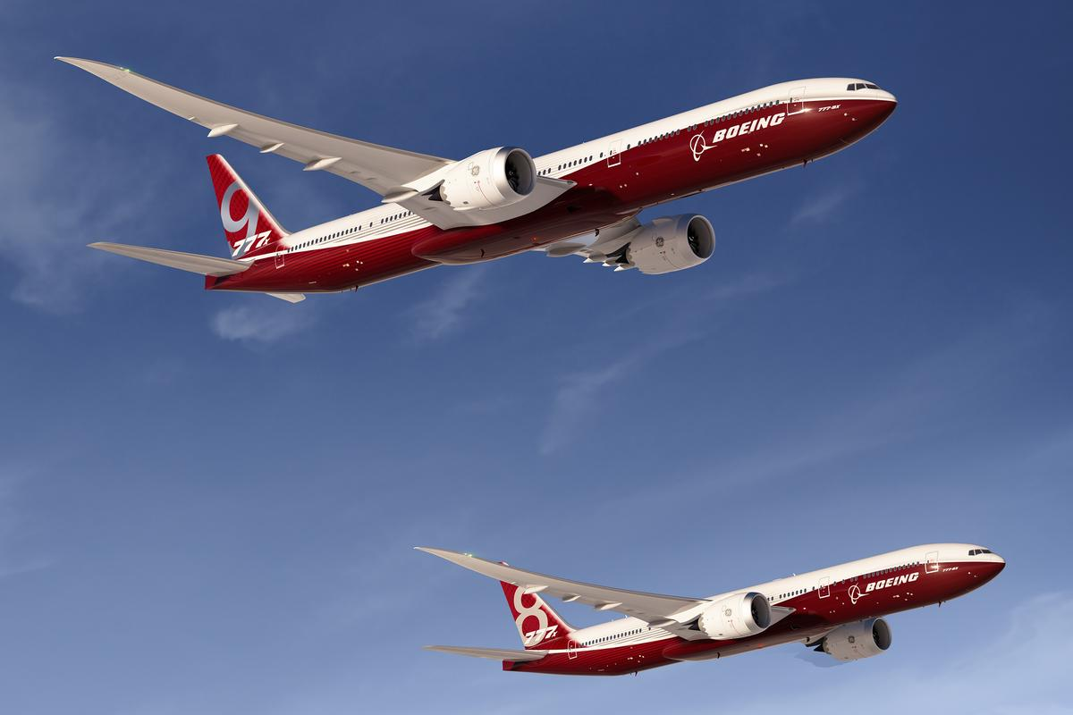 Boeing has launched its new 777X, 777-8X and 777-9X aircraft
