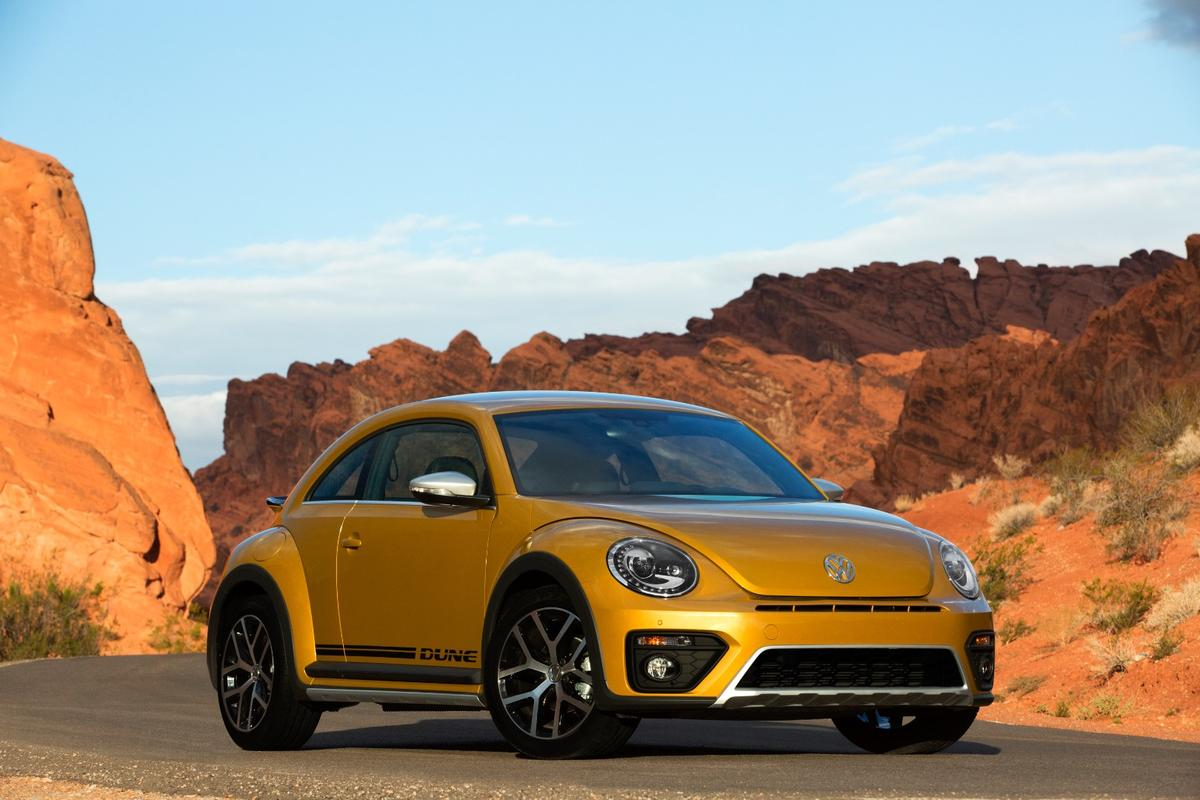 VW has used the LA Auto Show to launch a new, tougher-looking Beetle with a raised ride height and wider track