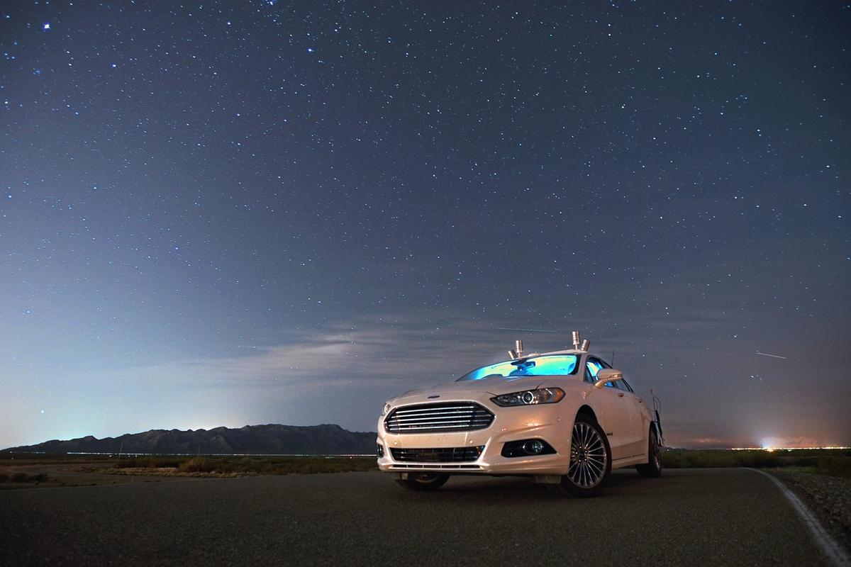 Ford's tests shows that LiDAR alone is enough for one of its autonomous research vehicles to drive itself in the dark