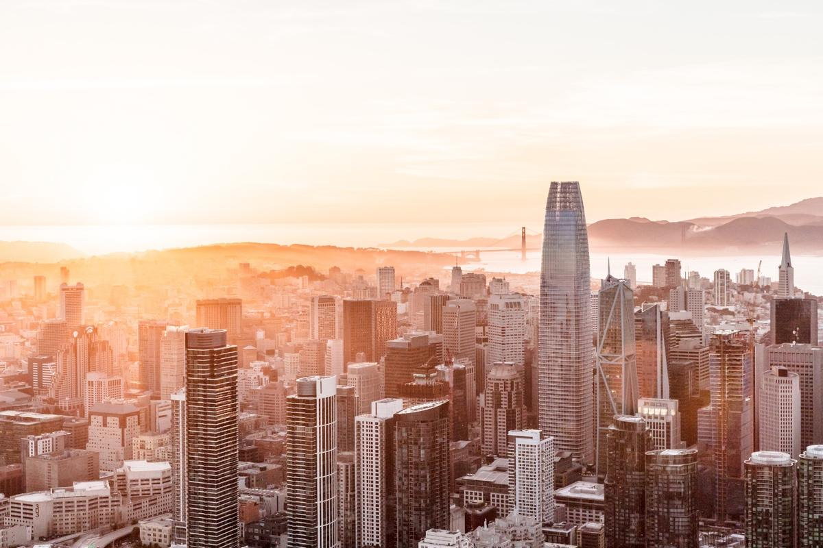 San Francisco's Salesforce Tower,  by Pelli Clarke Pelli Architects, has been declared the Best Tall Building Worldwide by the CTBUH