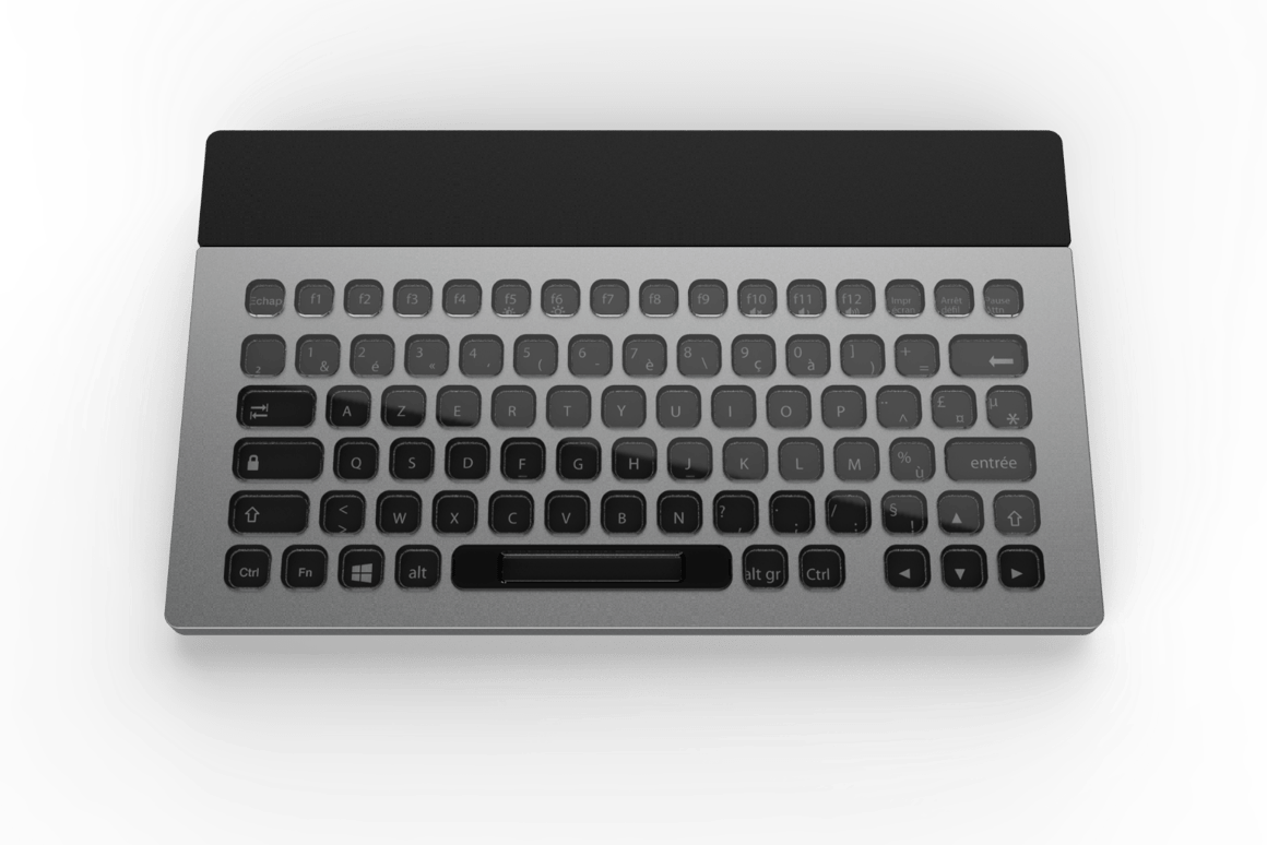 Nemeio keyboard lights up CES with customizable electronic