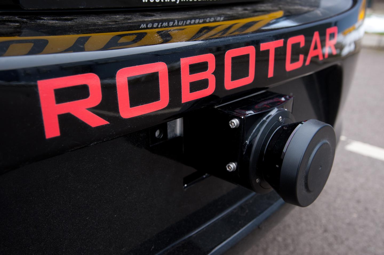 The MRG autonomous drive car