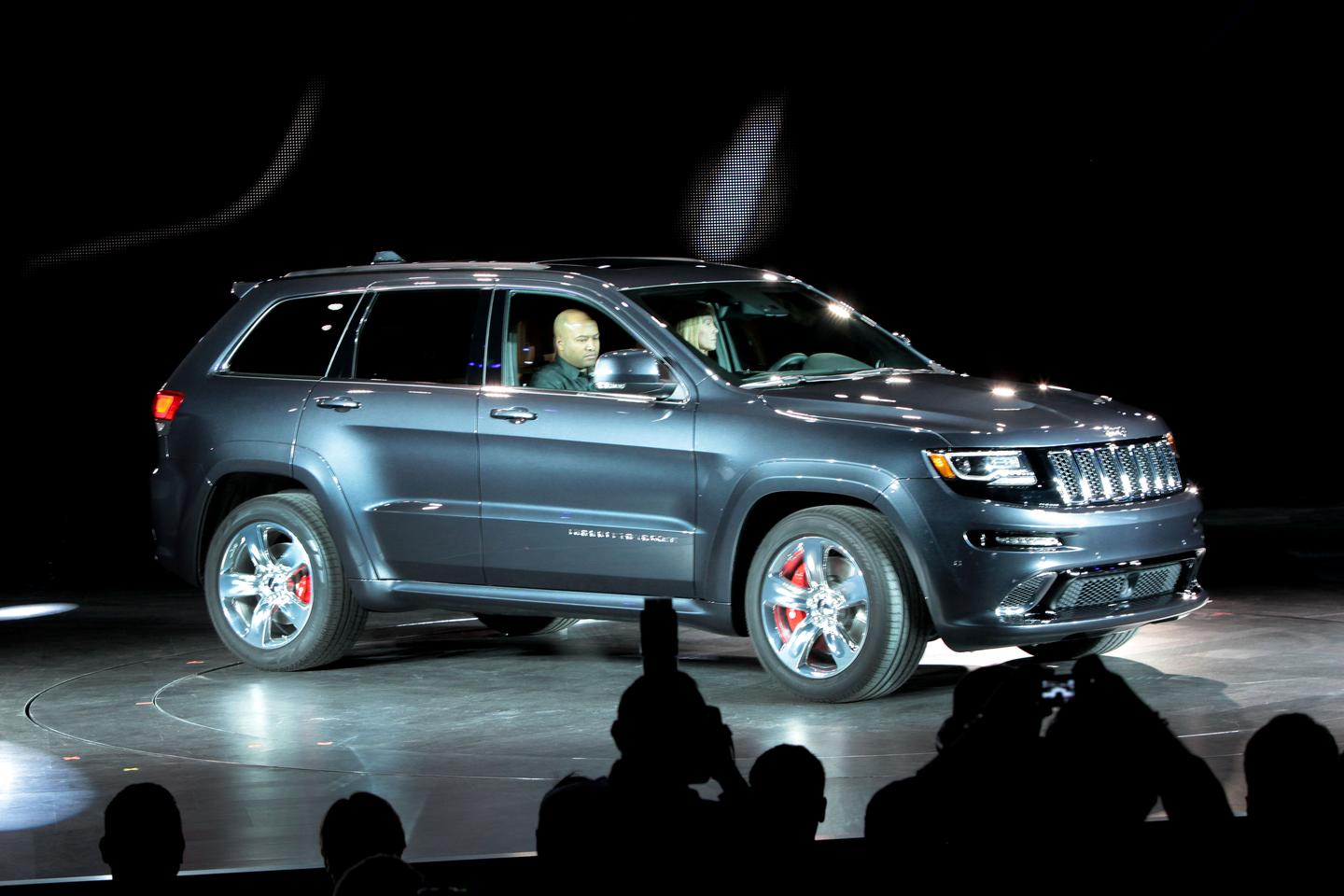 The new Grand Cherokee SRT on stage