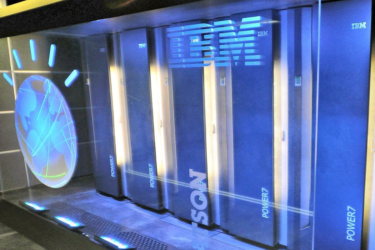 One of IBM's Watson natural language Big Data supercomputer systems (Photo: IBM)