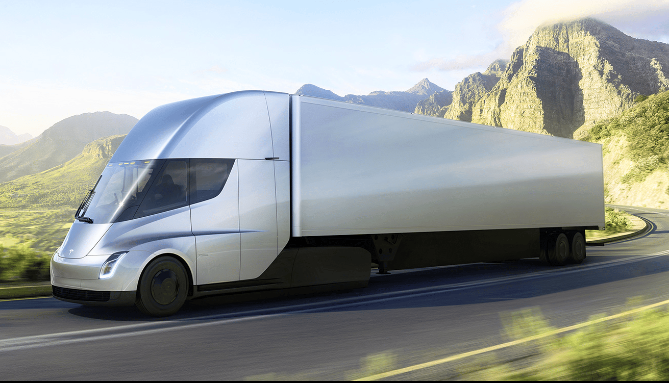 When fully laden and travelling at 65 mph, the Tesla Semi can cover an astonishing 500 miles on a single charge