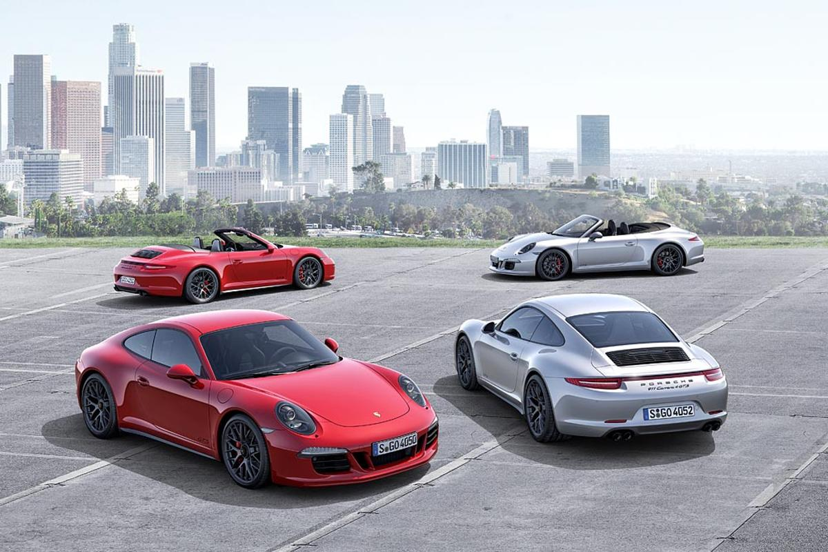 Porsche has announced four new 911 Carrera GTS models