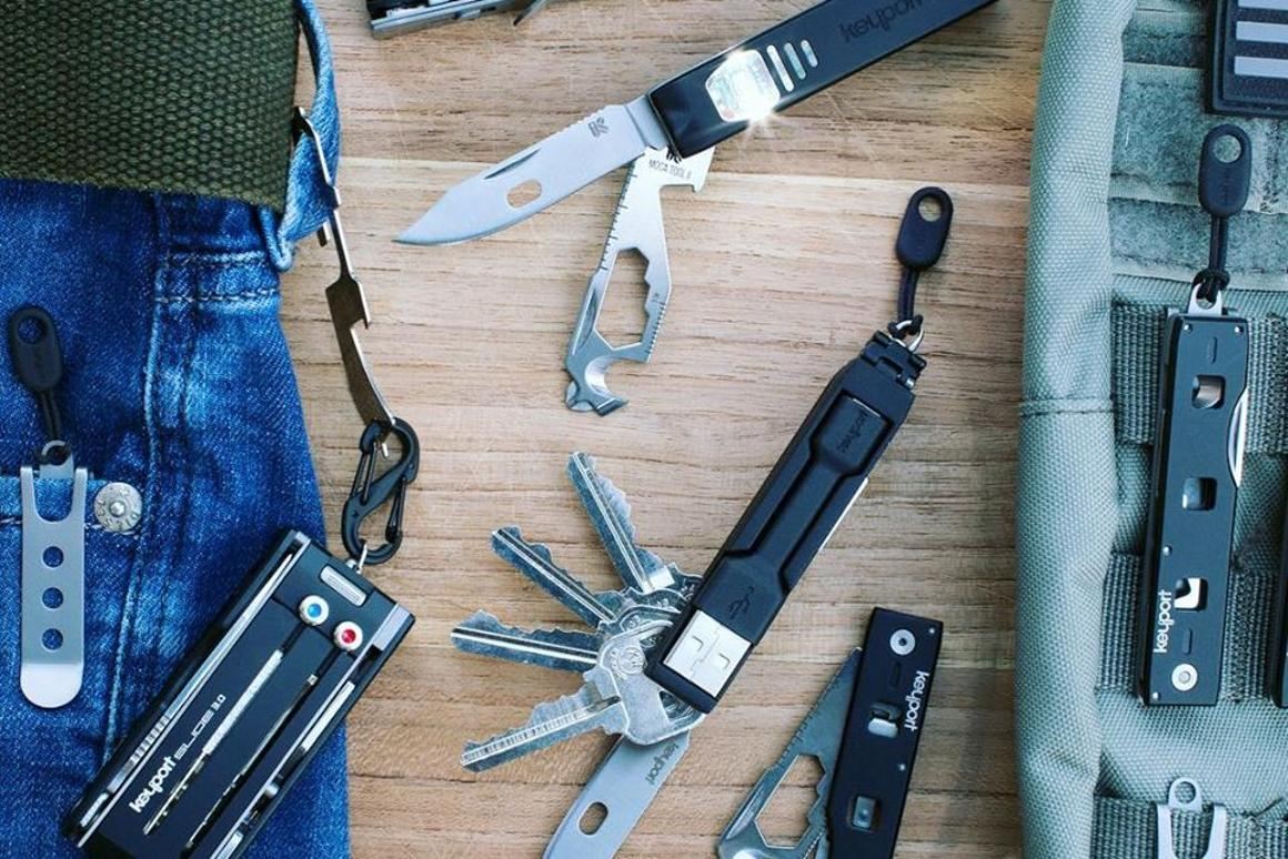 Keyport is looking to raise funds on Kickstarter for its Anywhere Tools system