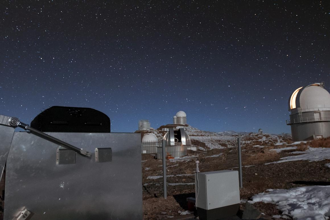 The Mascara exoplanet hunter will scan the sky from ESO's La Silla observatory in Chile