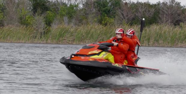 A PWC specifically for search and rescue workers