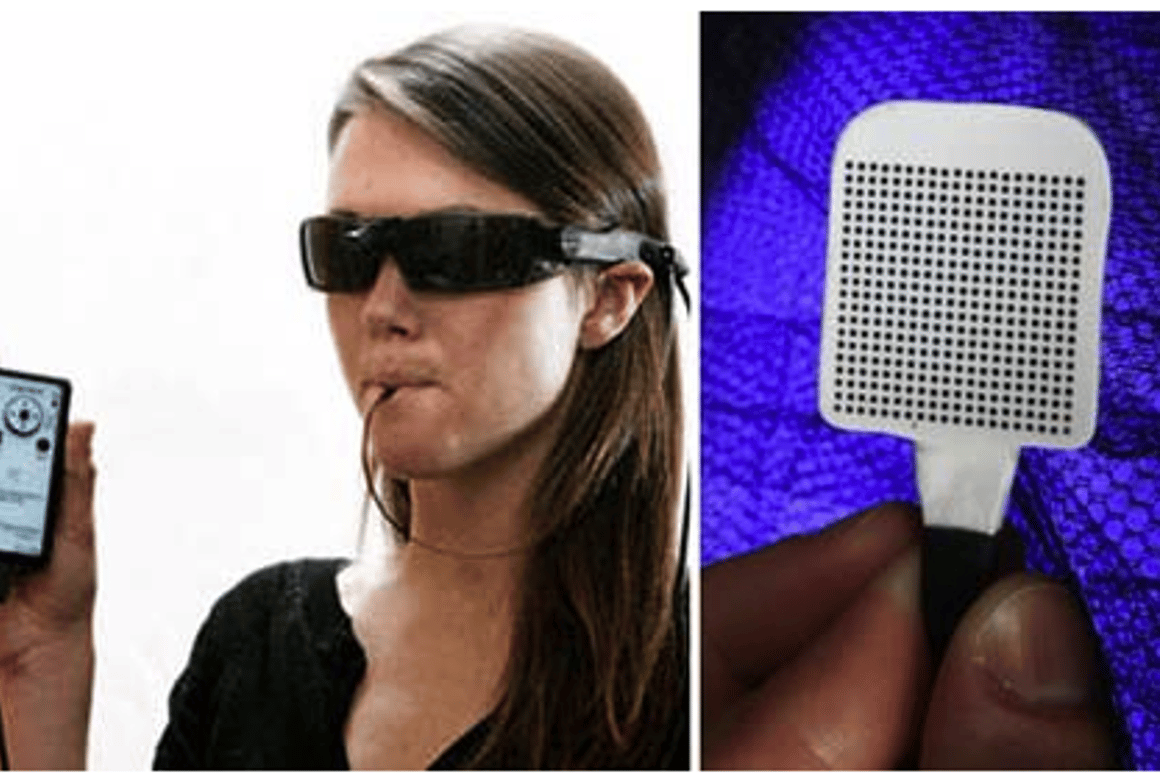 The BrainPort device helps the blind to 'see' through their tongues