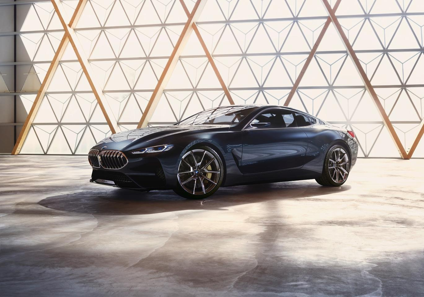 BMW's Concept 8 Series is sharp, curvy and aggressive