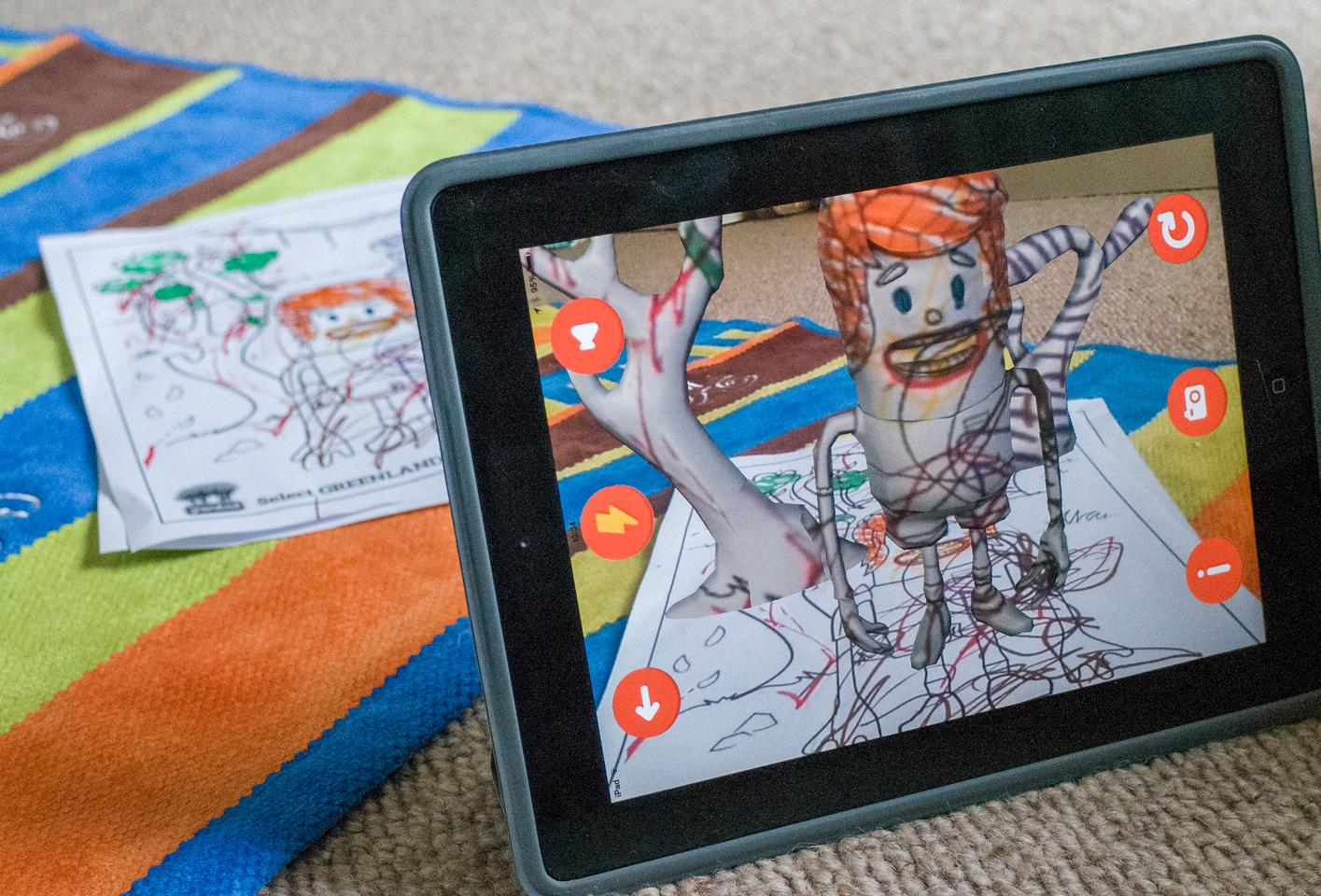 Chromville brings real-world coloring to 3D life with augmented reality
