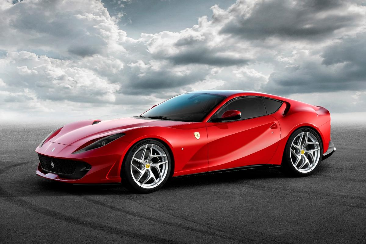 The new Ferrari 812 Superfast