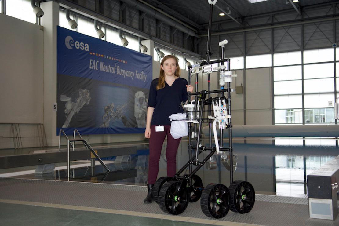 ESA Young Graduate Trainee Dorota Budzyn