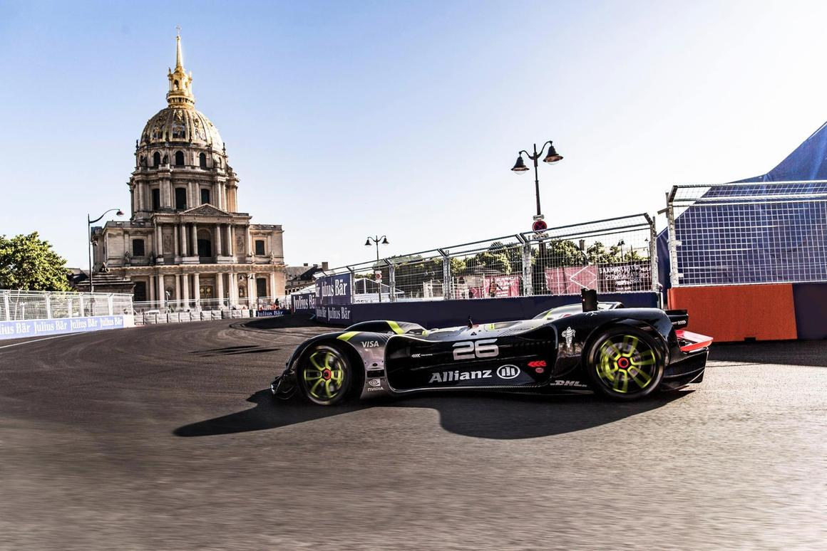 Roborace has taken another step forwards with the Robocar's lap of Paris