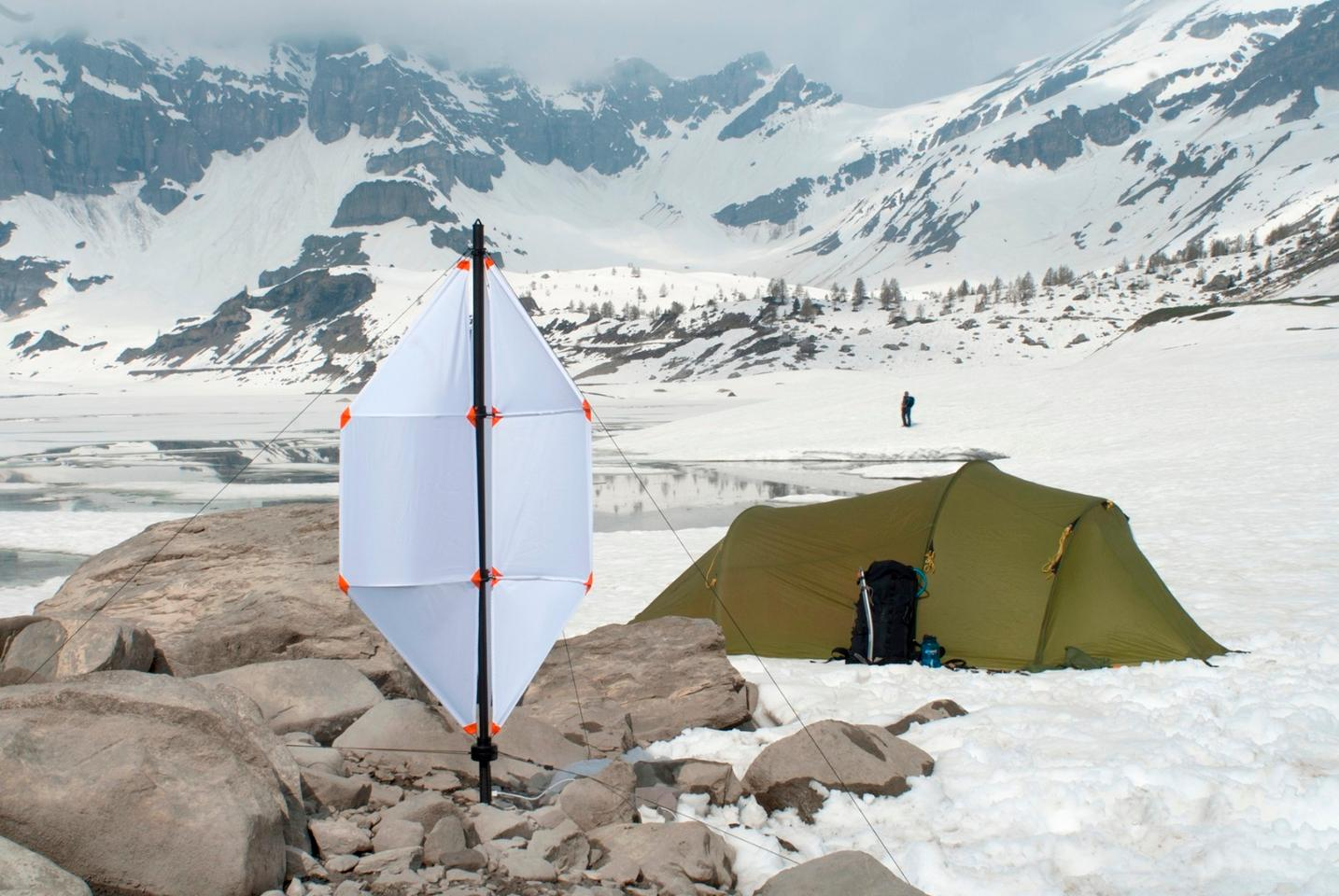 The Micro Wind Turbine is designed for ease-of-use portability