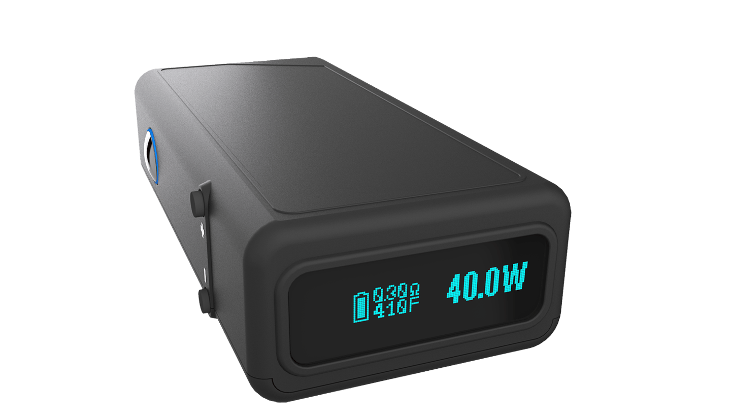 The Vapor Shark DNA is one of the new breed of devices with temperature control functionality