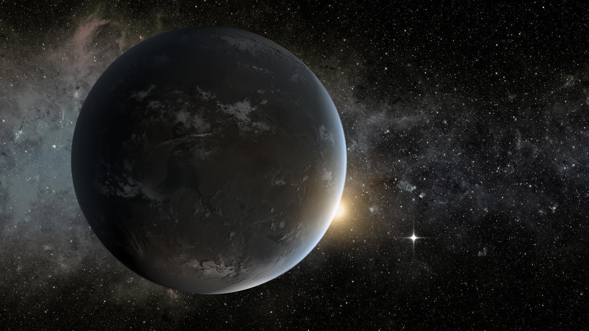 Artist's concept of Kepler-62f (Image: NASA)