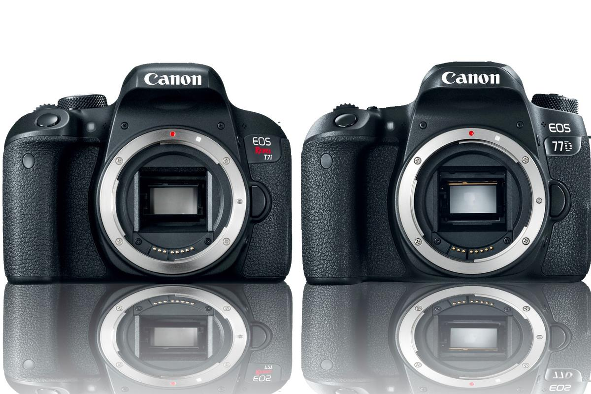 Canon has announced two new DSLRs – the EOS 800D (or Rebel T7i in the US) and the EOS 77D