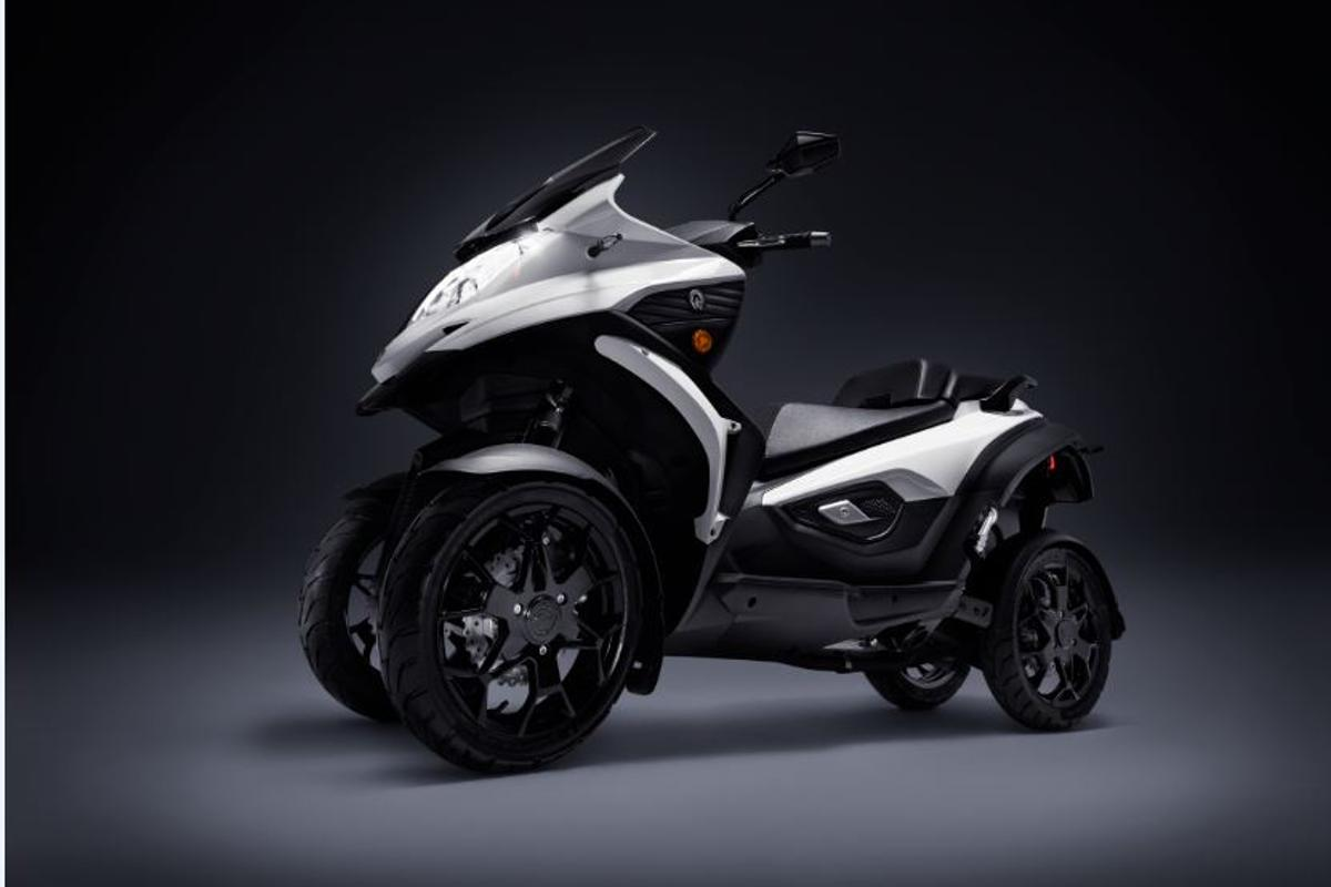 Quadro Qooder: narrow-track urban mobility with 4-wheel grip and stability
