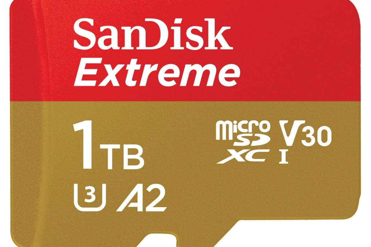 The SanDisk 1 TB Extreme UHS-1 microSDXC card is available for pre-order from today