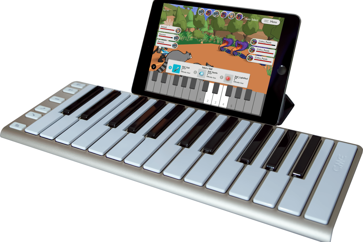 MeloQuest aims to keep young learners engaged by turning piano lessons into adventure gaming