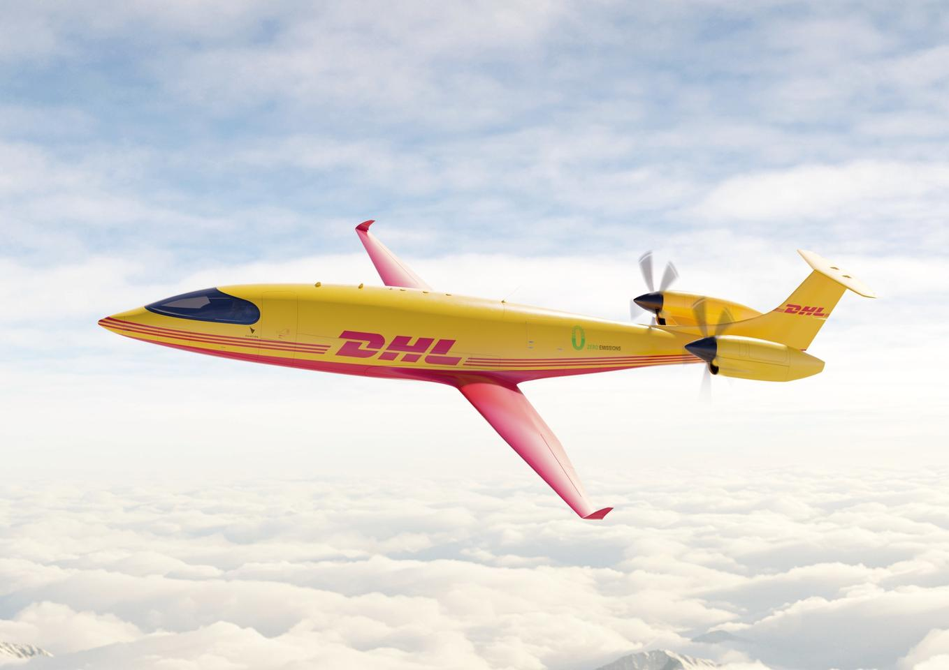 DHL Express has ordered 12 Alice eCargo all-electric aircraft from Eviation, due for delivery in 2024
