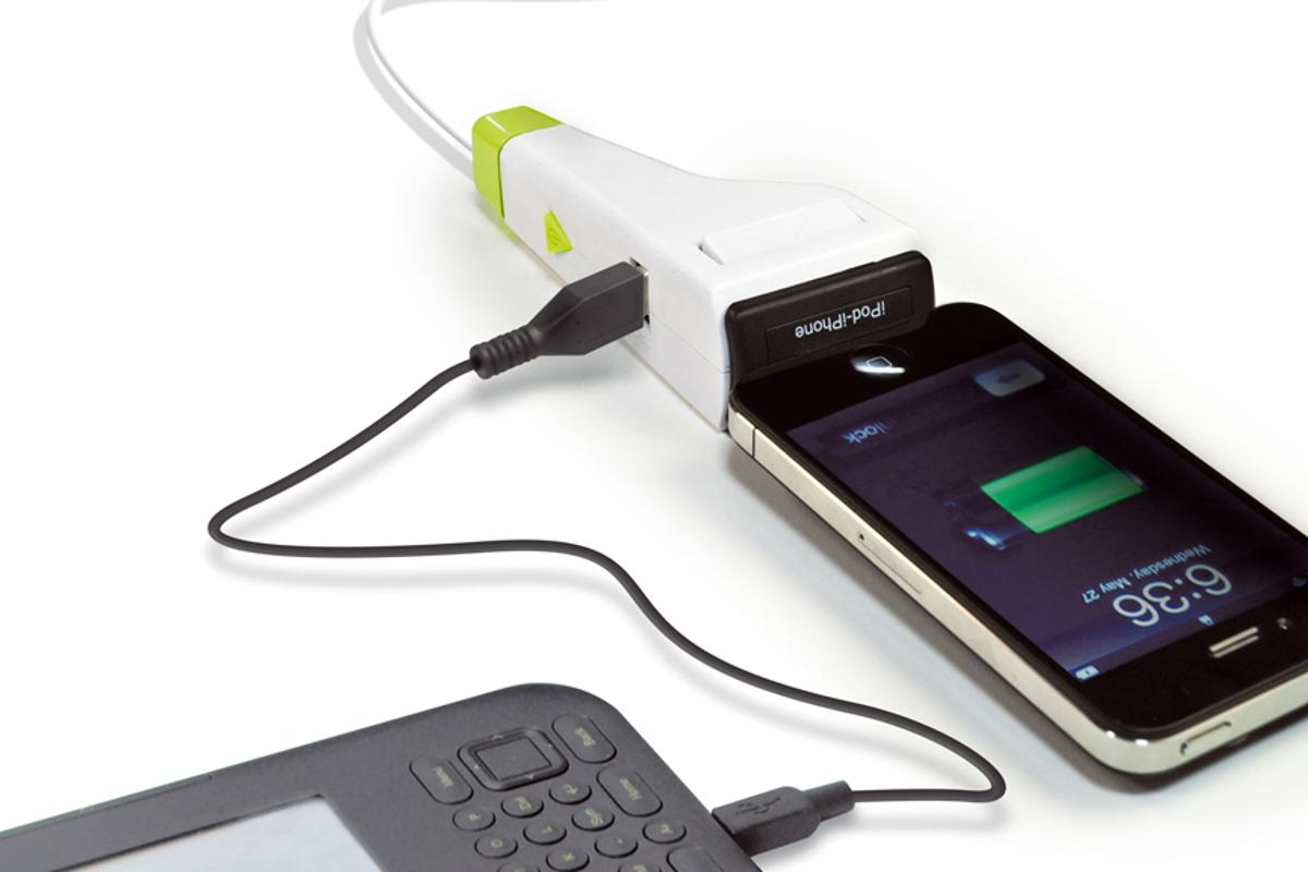 The IDAPT i1 Eco can charge up to two devices simultaneously