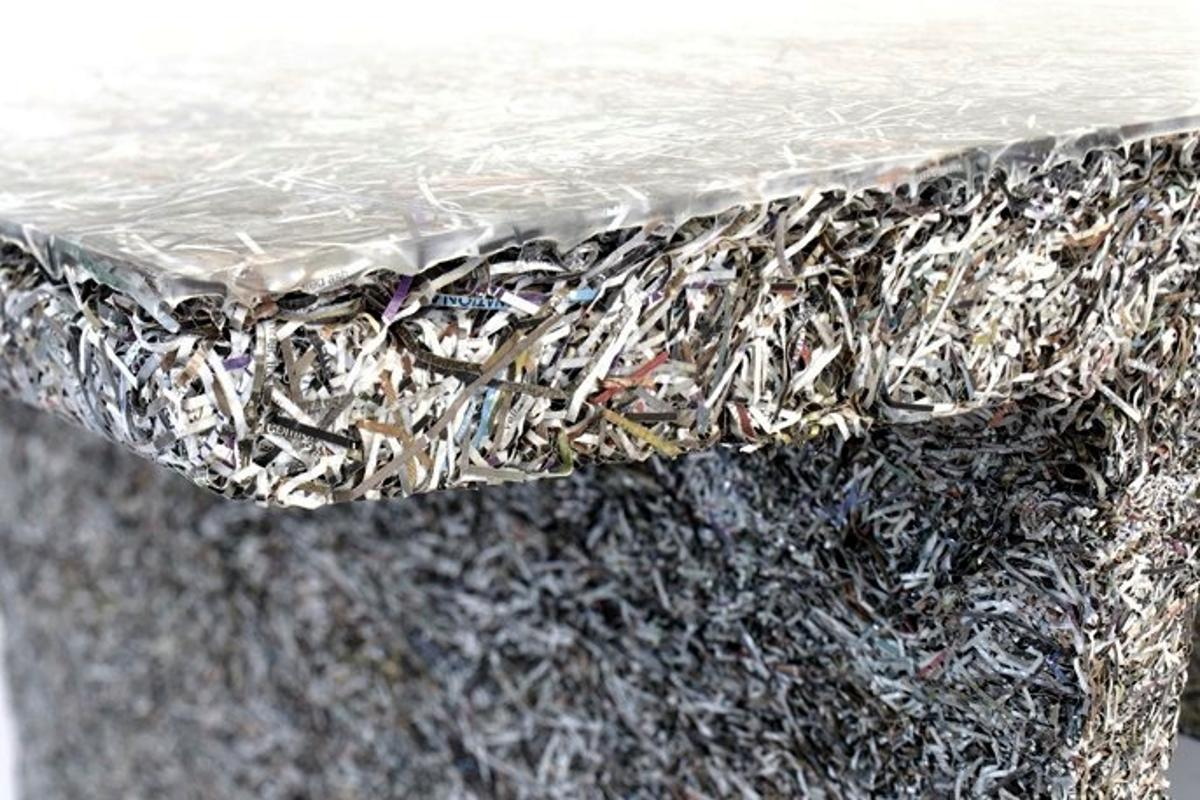 Close-up of the Shredded Table (Photo: Theo van Pinxteren/Industry Gallery)