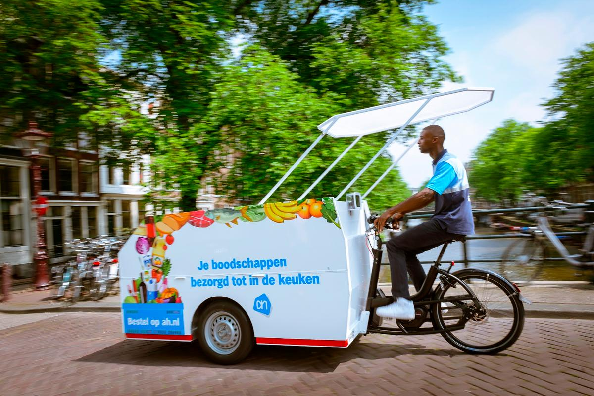 The Tender 3000 hits the streets of Amsterdam