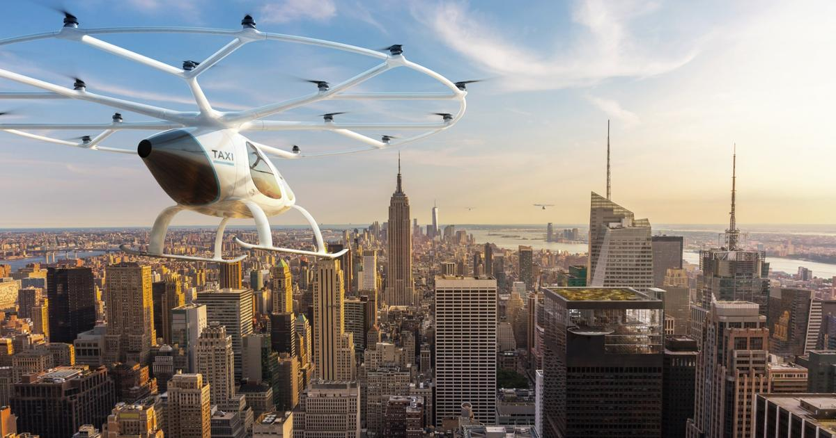 State of the game: The key players in the emerging eVTOL air taxi market