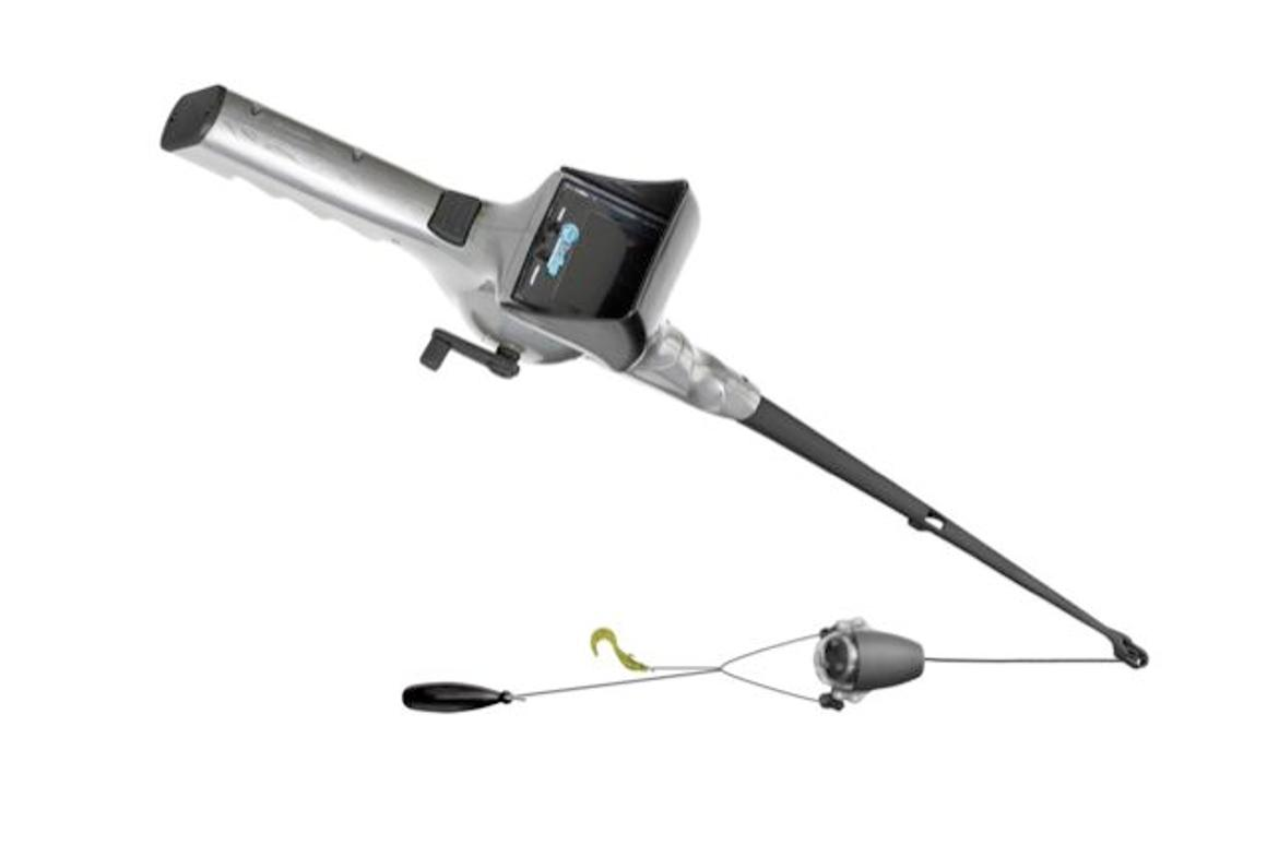 The FishEyes rod and reel features a submersible video camera, that providers anglers with a real-time image of their lure and the fish around it (Image: NextSport)
