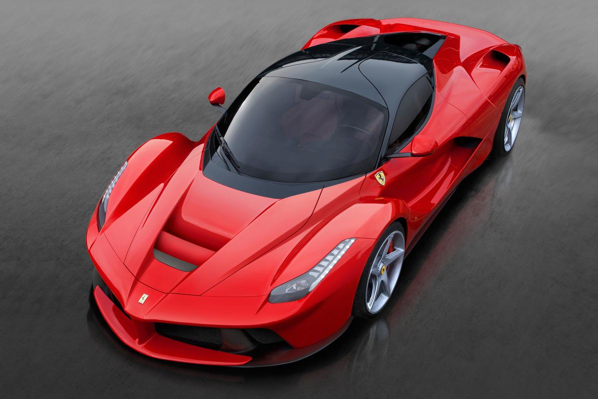 The LaFerrari is Ferrari's latest limited edition road flagship