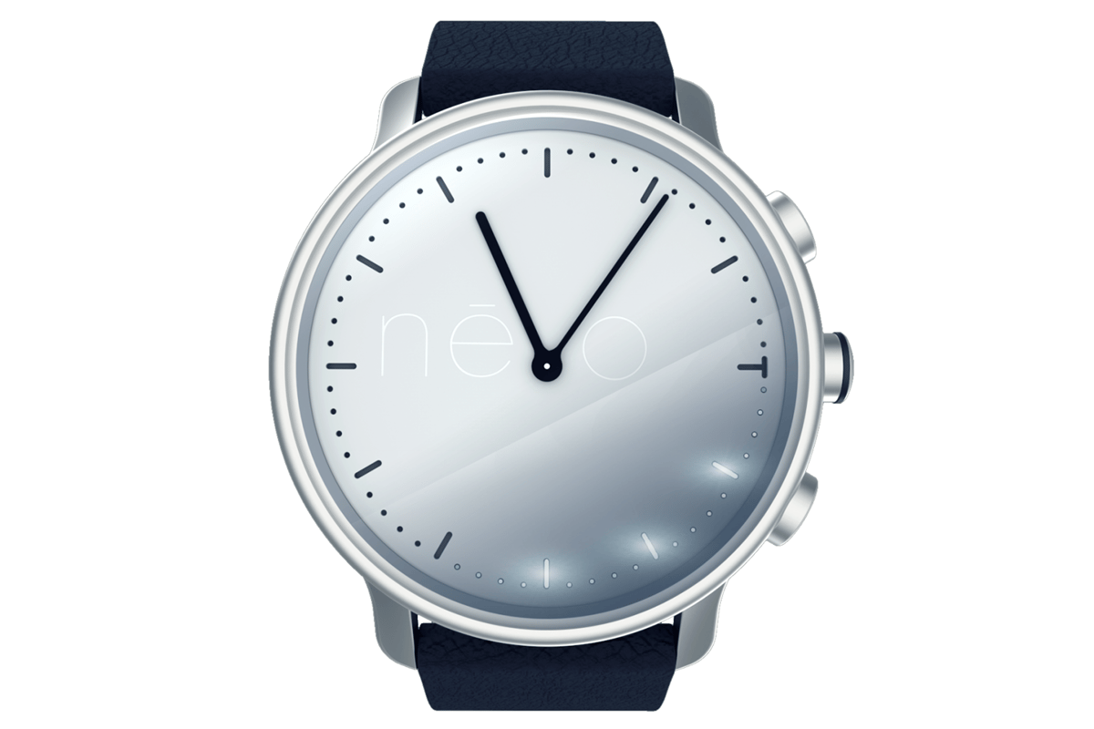 The Névo watch is a fashion-first fitness tracker with stylish looks and vibration alerts