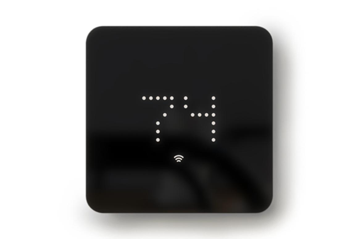 The ZEN smart thermostat aims for simplicity in terms of both form and function