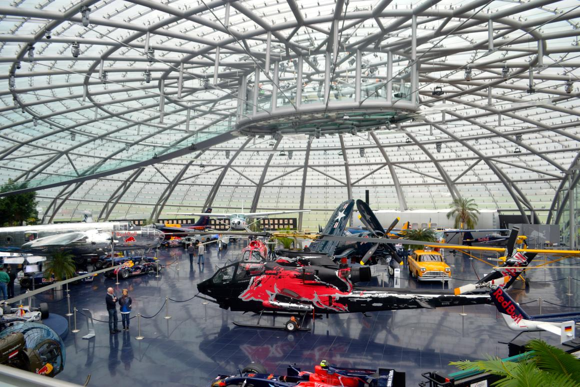 A look across the Hangar-7 museum (Photo: C.C. Weiss/Gizmag)