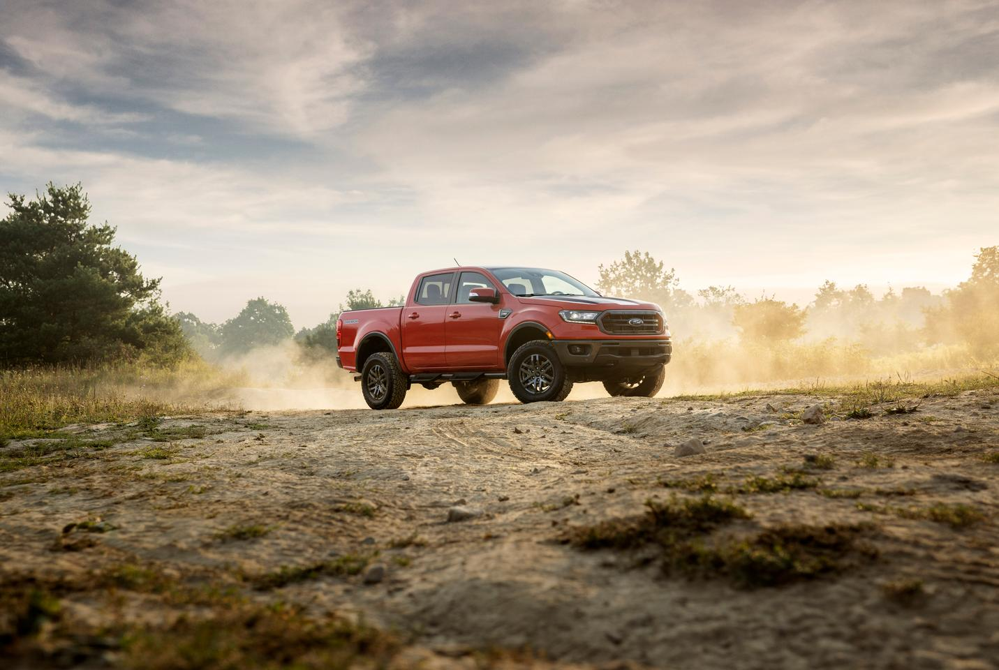 The Tremor package will be available on 4x4 models of both the XLT and Lariat Ford Ranger for the 2021 model year